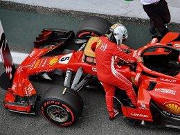 Vettel zerstört Kontrollwaage: Aber keine Strafversetzung