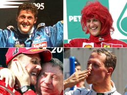 Formel-1-Legende Michael Schumacher wird 50
