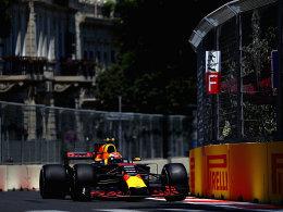 Verstappen gewinnt 1. Training - Vettel Dritter
