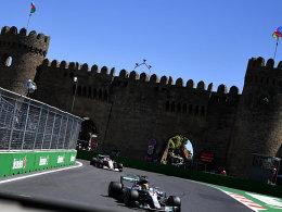 66. Pole für Hamilton - Vettel Vierter