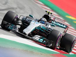 Bottas rast in Spielberg auf Pole - Vettel Zweiter