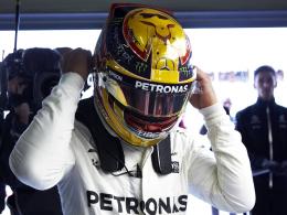 67. Pole Position für Lewis Hamilton