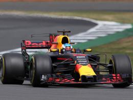 Erneut Bestzeit für Ricciardo, Vettel auf P2
