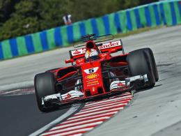 Vettel holt die Pole - Hamilton verpasst vorerst Bestmarke