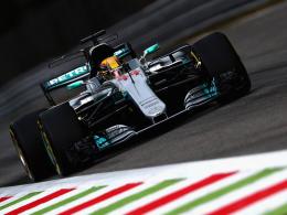 Hamilton dominiert Auftakt in Monza