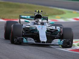 Tagesbestzeit von Bottas, Vettel auf P3