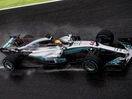 Hamilton zieht im Chaos an Schumacher vorbei