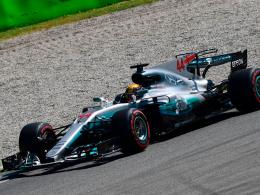 Hamilton rast in Monza zur WM-Führung