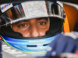 Ricciardo mit Bestzeit vor Vettel und Verstappen