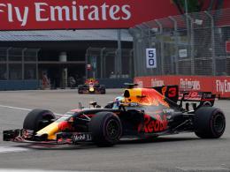 Red-Bull-Pilot Ricciardo eine Klasse für sich