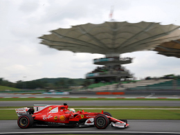 3. Freies Training: Räikkönen vor Vettel