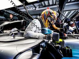 70. Pole für Hamilton - Vettel Letzter