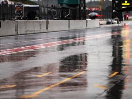 Dauerregen in Suzuka: Nur fünf Piloten auf der Strecke