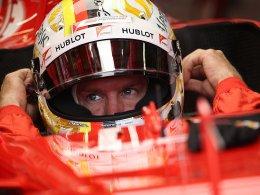 3. Freies Training: Vettel auf Tuchfühlung