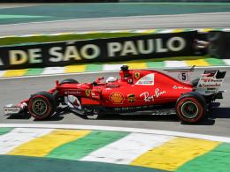 Hamilton wieder Schnellster, Vettel auf Rang vier
