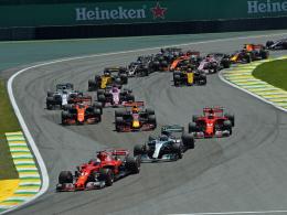 Vettel siegt in Brasilien - Hamilton rast von 20 auf 4