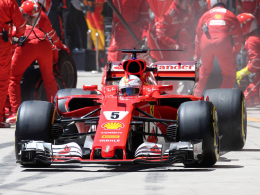 Vettel glänzt auf dem Yas Marina Circuit