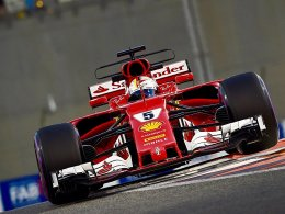 Vettel muss sich hinten anstellen - Hamilton stark