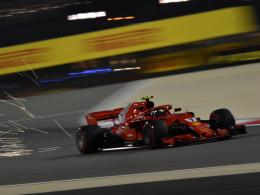 Räikkönen fährt auch im 3. Training Bestzeit