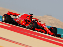 Vettel holt sich die Pole in Bahrain