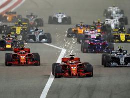 Wahnsinns-Rennen: Vettel rettet Sieg gegen Bottas
