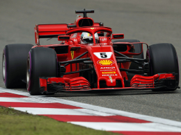 Wieder Pole! Vettel beendet Mercedes-Serie in China