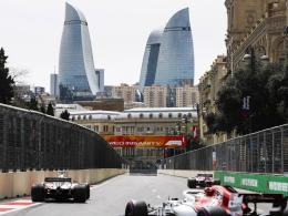 Vettel enttäuscht in Baku - Ricciardo holt Tagesbestzeit