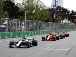 Hamilton siegt im Baku-Chaos - Vettel nur Vierter