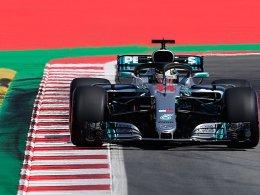 Hamilton vorn - Vettel verpasst wieder erste Spanien-Pole