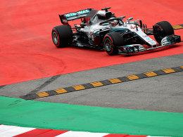 Hamilton mit Bestzeit vor der Quali - Vettel Dritter