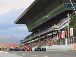 Hamilton dominiert in Barcelona - Dämpfer für Vettel