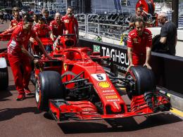 Red Bull setzt ein Zeichen - Vettel hinter Hamilton