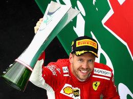50. Grand-Prix-Sieg für Vettel