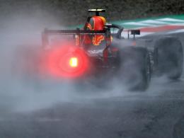 Perez Schnellster im Regen von Monza