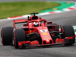 Vettel dominiert trotz Abflug