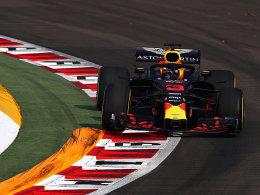 Ricciardo fährt erste Bestzeit - Vettel Dritter