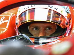Vettel setzt ein dickes Ausrufezeichen