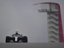 Hamilton fährt erste Bestzeit - Vettel Fünfter