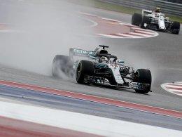 Auch Regen stoppt Hamilton nicht - Vettel strafversetzt