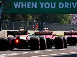 Verstappen hat Hamilton und Vettel im Schlepptau
