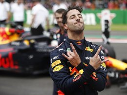 Pole für Ricciardo - Hamilton neben Vettel