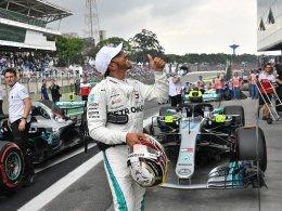 82. Pole: Hamilton gibt Vettel das Nachsehen