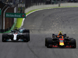 Heißes Duell mit Verstappen: Hamilton siegt in Sao Paulo