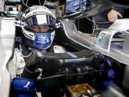 Bottas lässt Verstappen und Ricciardo hinter sich