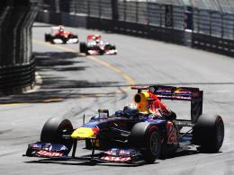 Fünfter Sieg im sechsten Rennen: Weltmeister Sebastian Vettel siegte in einem denkwürdigen Monaco-GP.