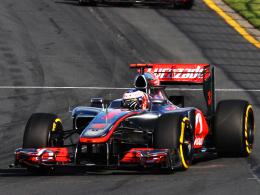 Dritter Sieg in Melbourne: McLaren-Pilot Jenson Button hat den Auftakt-Grand-Prix in Australien gewonnen.