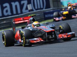 Zweiter Saisonsieg: McLaren-Pilot Lewis Hamilton setzte sich in Ungarn durch.