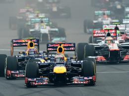 Vierter Sieg in Folge: Weltmeister Sebastian Vettel triumphierte auch in Indien.