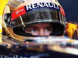 Vettel auf der Pole, Alonso startet von Platz 8