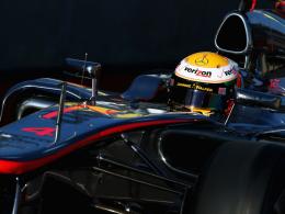 Premierensieger: McLaren-Pilot Lewis Hamilton triumphierte im texanischen Austin.